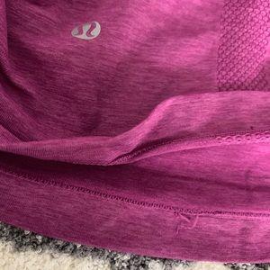 lululemon athletica Tops - Lululemon Pink/Black Tank Sz 6?